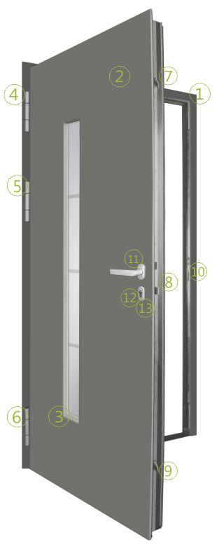 Door equipment scheme  sc 1 st  Eutherm doo & Door equipment - Eutherm d.o.o. pezcame.com