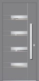 Aluminium door, model Bristol, BR 41E