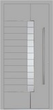 Aluminium door, model Edinburgh, ED 67E