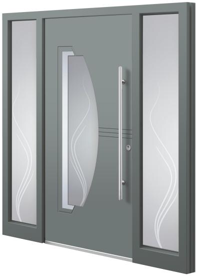 Aluminium Türen - Model DU 27E