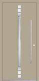 Aluminium door, model BI 13E