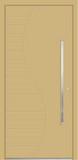 Aluminium door, model EL 11S