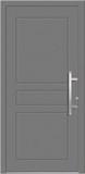 Aluminium door, model LA 87E