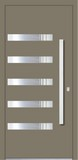 Aluminium door, model London, LO 12E