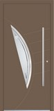 Aluminium door, model Lyon, LY 37E