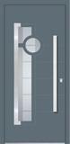 Aluminium door, model Moscow, MO 26E