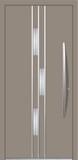 Aluminium door, model MU 63E