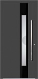 Aluminium door, model Napoli, NA 71E