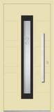 Aluminium door, model PO 14P