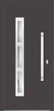Aluminium door, model Praha, PR 29E