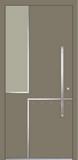 Aluminium door, model SM 60E