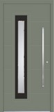 Aluminium door, model UL 15P