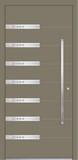 Aluminium door, model VI 20E