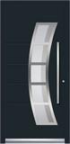 Aluminium door, model VL 81E