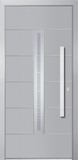 Aluminium door, model ZU 48E