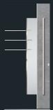 Aluminium door, model AV 89E