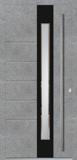 Aluminium door, model LE 94E