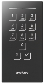Door keypad black