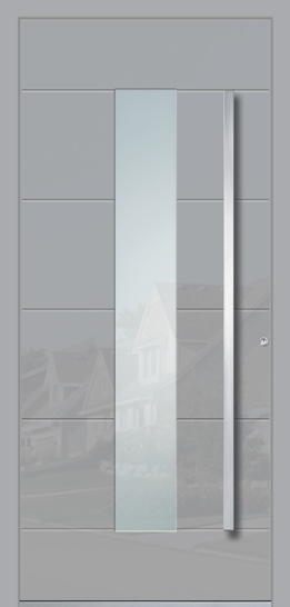 Aluminium door - model Chicago
