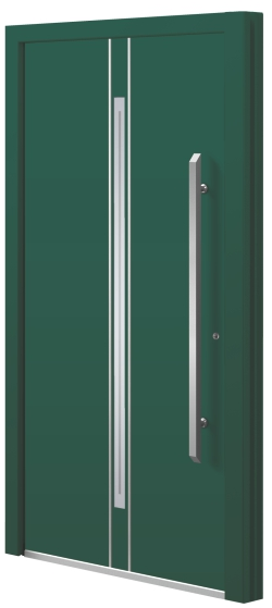 Aluminium (aluminum) entrance door - Model BG 52E