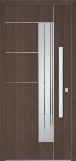 Porte d'ingresso in alluminio - Modello BO 40E