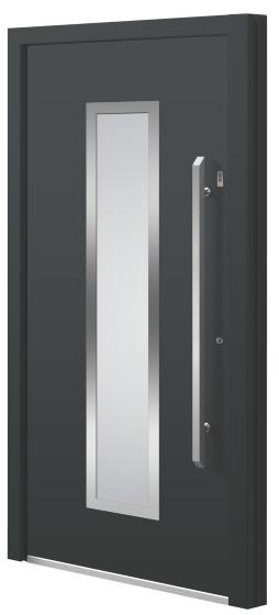 Aluminium (aluminum) entrance door - Model KO 50E