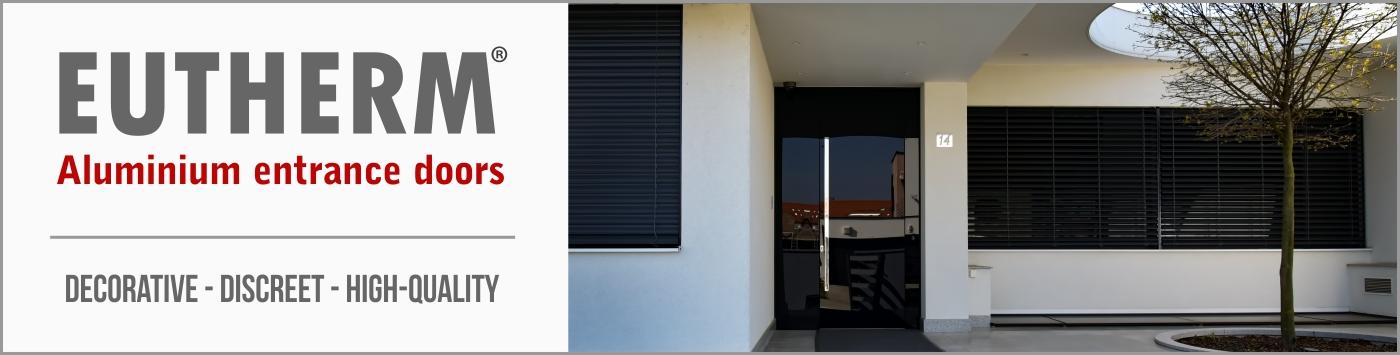 Eutherm - Aluminium entrance doors